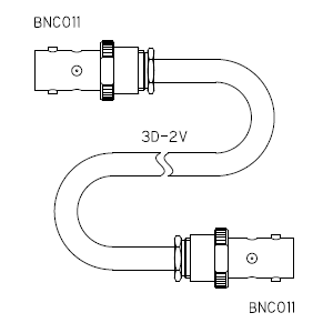 BNC011-ケーブル仕上全長-3D2V