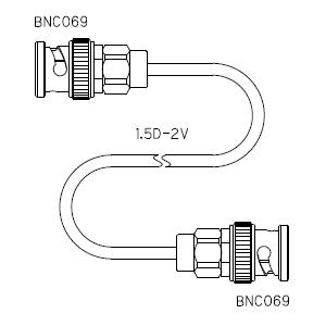 BNC069-ケーブル仕上全長-1.5D-2V