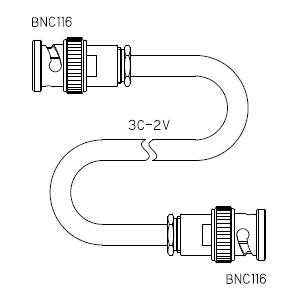BNC116-ケーブル仕上全長-3C2V
