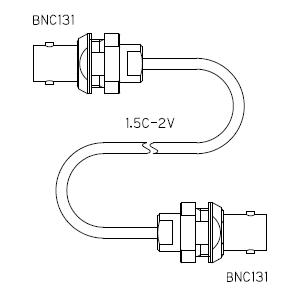 BNC131-ケーブル仕上全長-1.5C2V