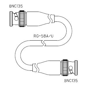 BNC135-ケーブル仕上全長-RG58AU
