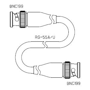 BNC199-ケーブル仕上全長-RG55U